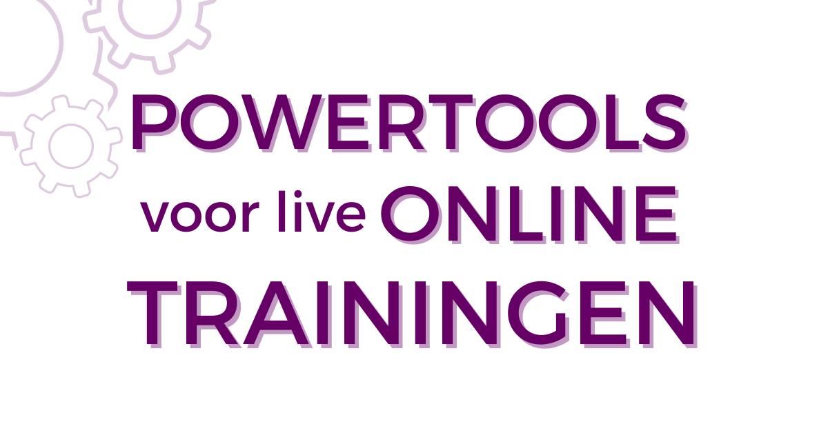 Titia-OnlineAcademie-Powertools